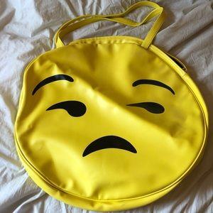 """HUGE emoji tote bag """"😒"""" 😍"""